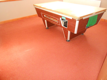 Commercial Carpet in a Snooker Hall