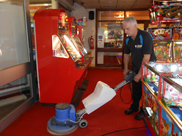 Commercial Cleaning Agitating
